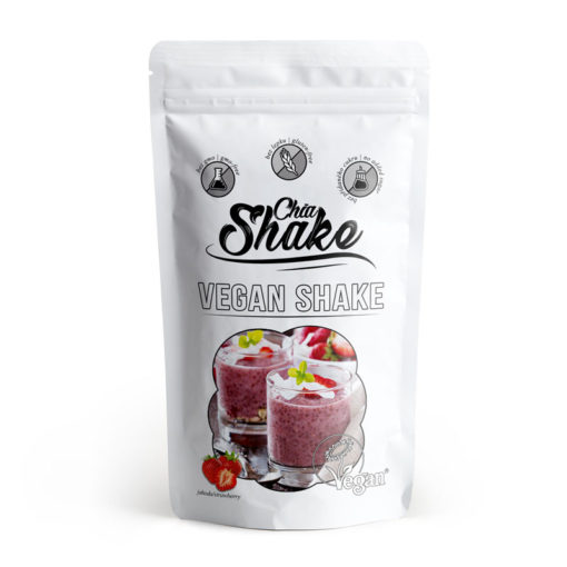 Vegan Protein Shake Strawberry